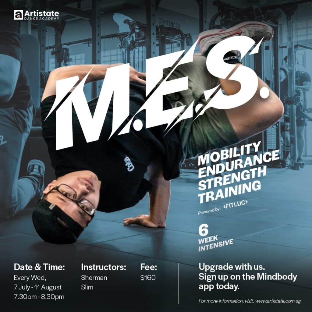 Mobility Endurance Strength Course July August Poster